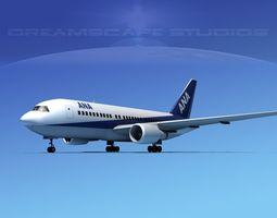 3D Boeing 767-200ER ANA