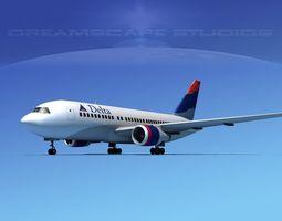 Boeing 767-200ER Delta 3 3D