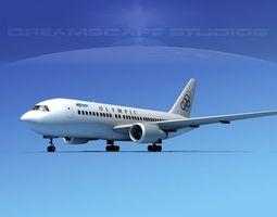 Boeing 767-200ER Olympic 3D