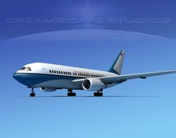 Boeing 767-200ER US Government 3D