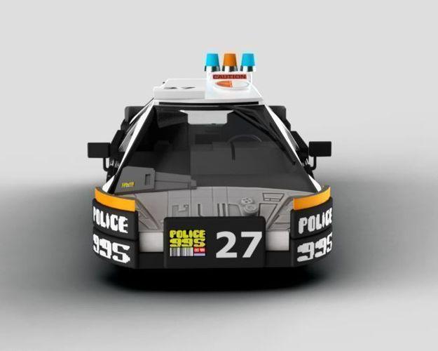 Car Painting Apps >> police Blade Runner Police Car 3D model | CGTrader