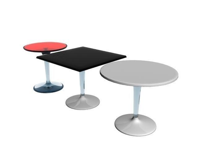 kartell tiptop table 3d model max 1