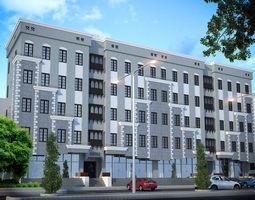 Heritage Residential Building 3D model