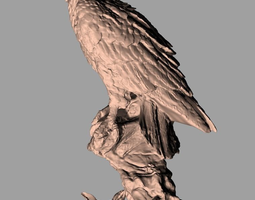 Animal Sculpture Model Crafts Eagle A021