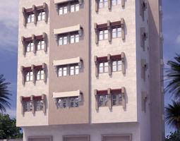 building arabian 3D Residential Building