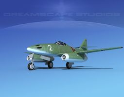 Messerschmitt ME-262A1 Swallow V05 3D