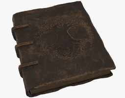 Book Old 3D model