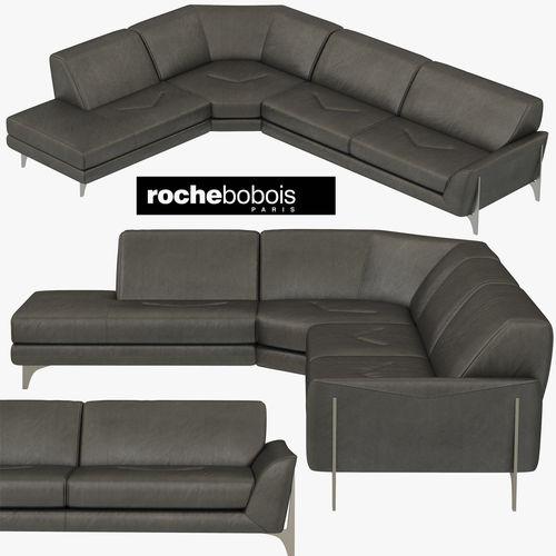 roche bobois reflexion corner composition 3d model max obj mtl 3ds fbx 1