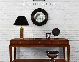 3D model Eichholtz - Console Table Military