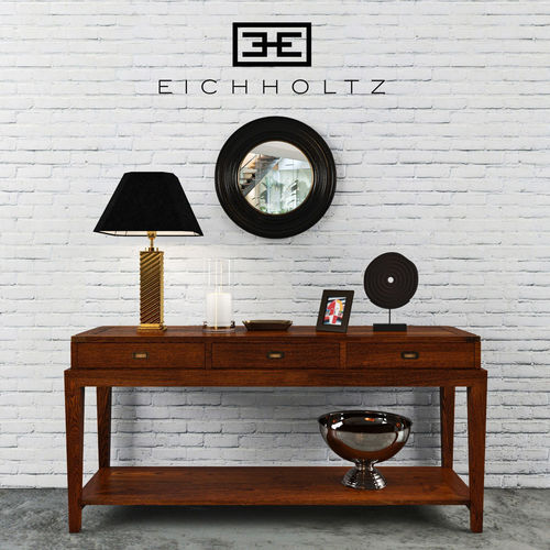 eichholtz - console table military  3d model max fbx 1