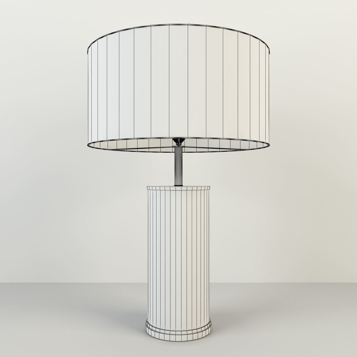 3d rh delano shagreen cylinder table lamp cgtrader rh delano shagreen cylinder table lamp 3d model max obj 7 aloadofball Image collections