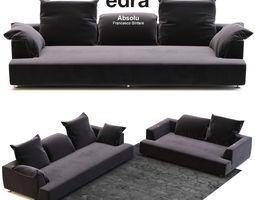 Edra Absolu Large Sofa 3D