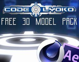 3D CODE LYOKO REBIRTH -ALL SECTORS AND CHARACTERS