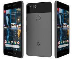 Google Pixel 2 Just Black 3D