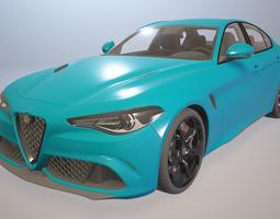 Alfa Romeo Giulia Quadrifoglio 3D model