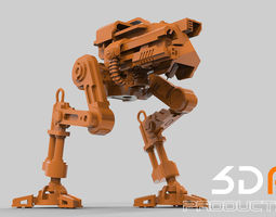 Robot STL 3D print model
