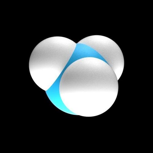 ammonia molecule 3d model obj mtl 3ds fbx stl dae x3d 1