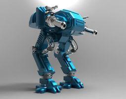 Mech 3 3D print model