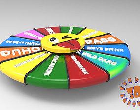 Fidget Spinner and Drinking Wheel 3D printable model 1
