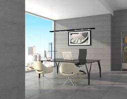 house the boss office 3ds max version