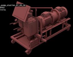 Industrial Pipeline Machinery 87SB-Model 3D