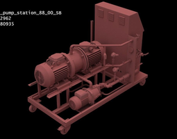 Industrial Pipeline Machinery 88SB-Model 3D