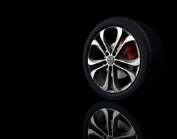 3D printable model Complete wheel R19