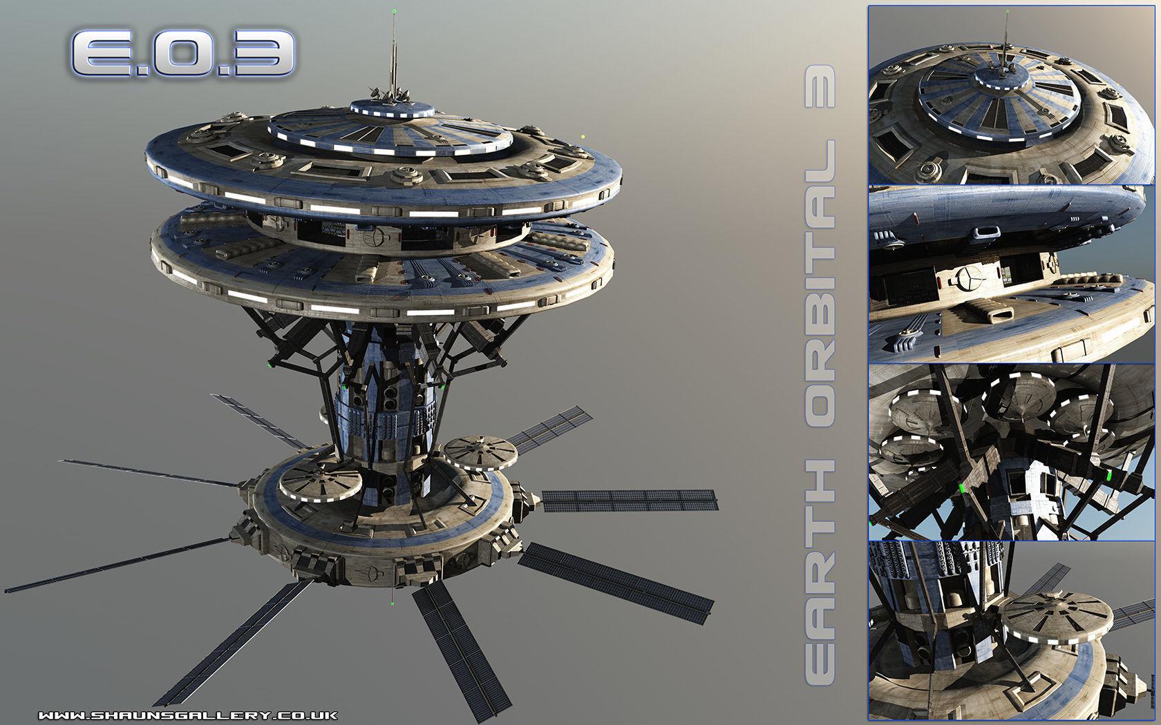 Earth Orbital 3 Space Station