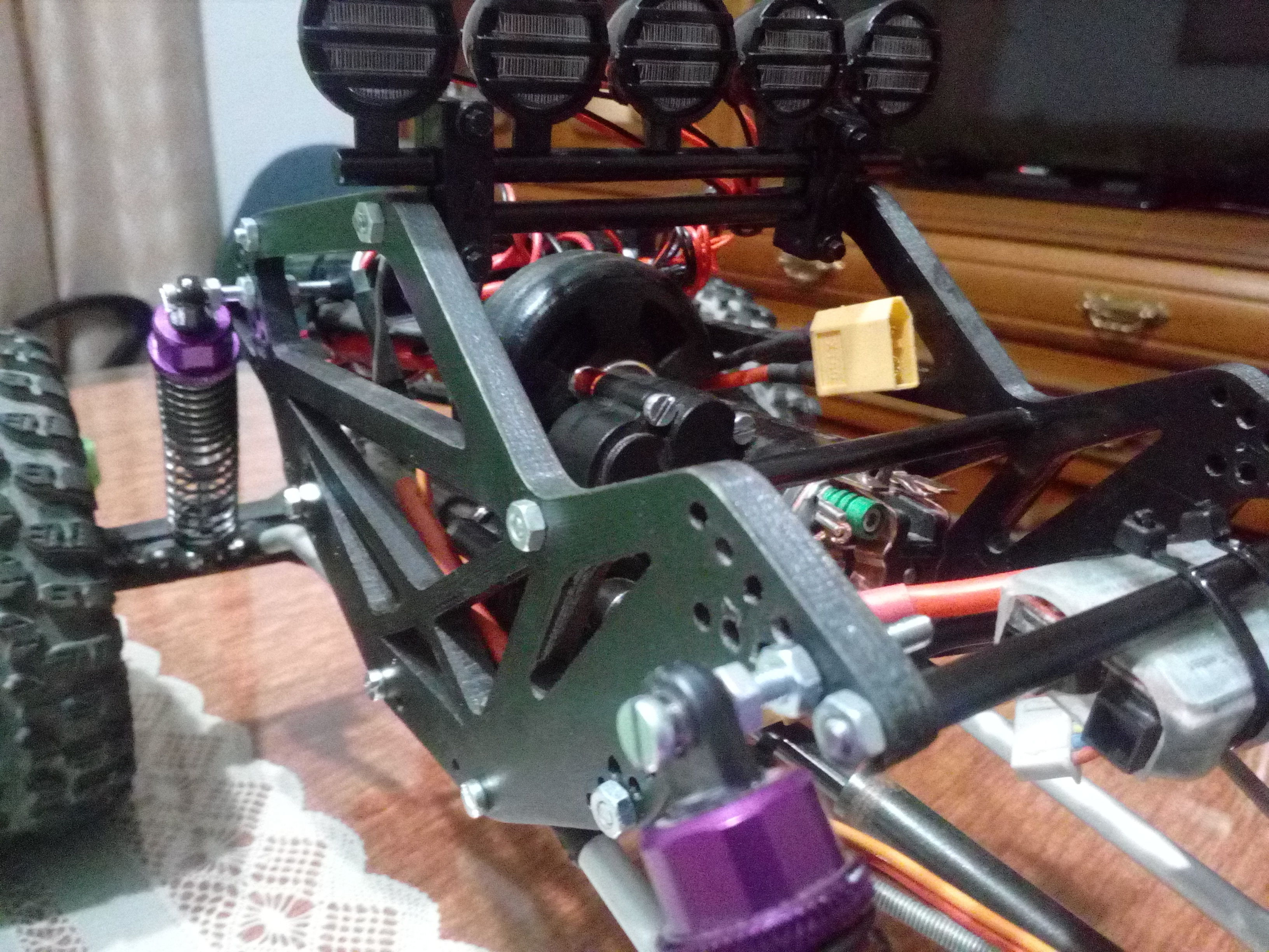 Rc crawler chassis   3D Print Model
