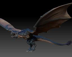 Fantasy Dragon Zbrush 3d model