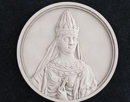 3D print model Coin Vel Kn Olga Svyatay Supruga