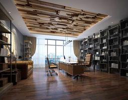 boss manager office 09 3D model
