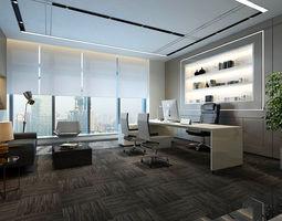 3D model boss manager office 17