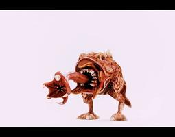 3D asset animated Monster