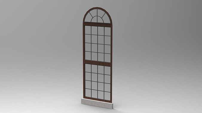3d model window design 3 cgtrader for Window design model