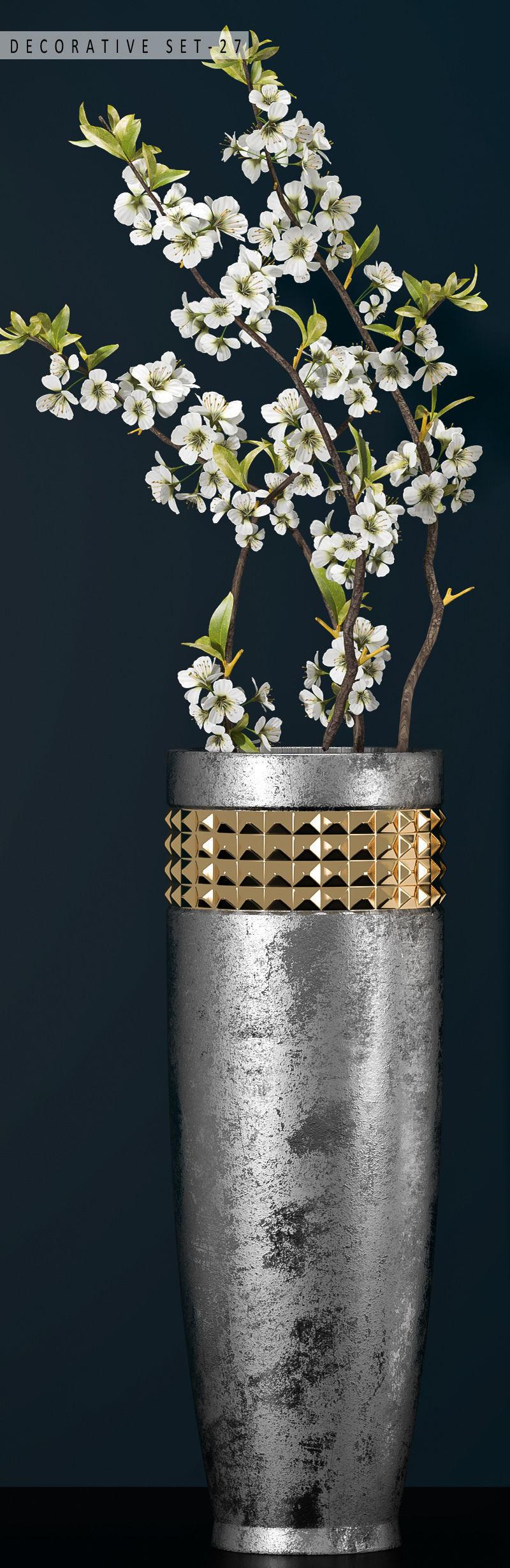 Decorative vase set 27 3d cgtrader decorative vase set 27 3d model max fbx unitypackage 2 reviewsmspy