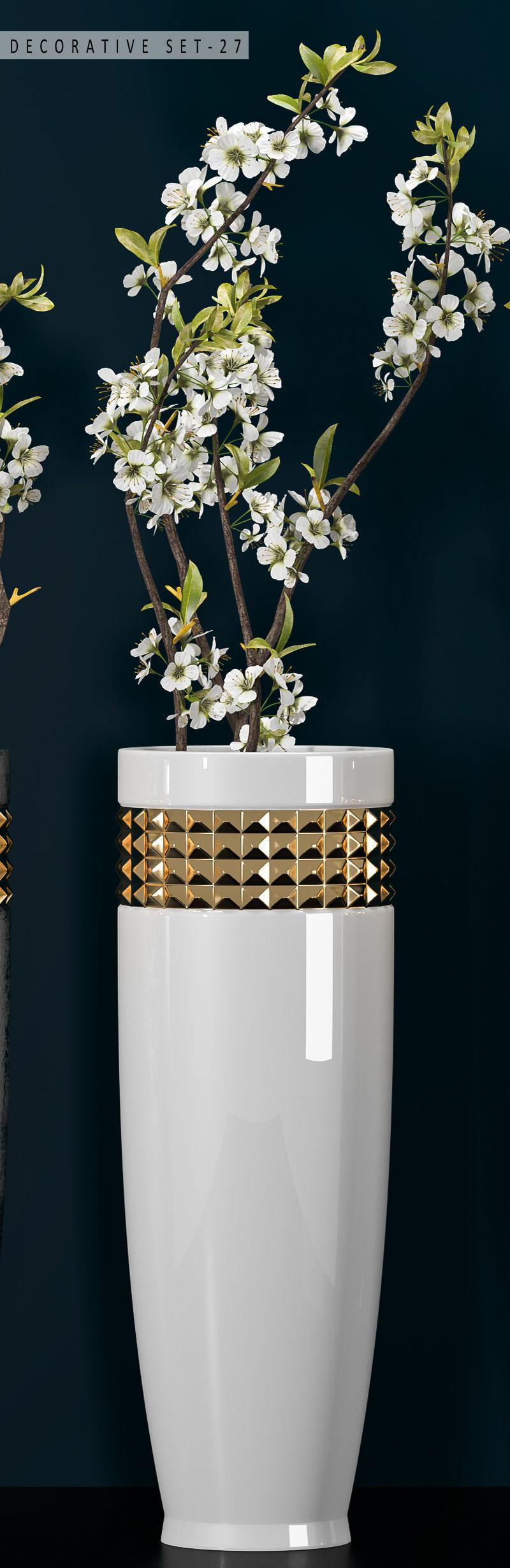 Decorative vase set 27 3d cgtrader decorative vase set 27 3d model max fbx unitypackage 3 reviewsmspy