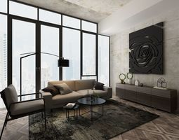 Living Room 3D Models