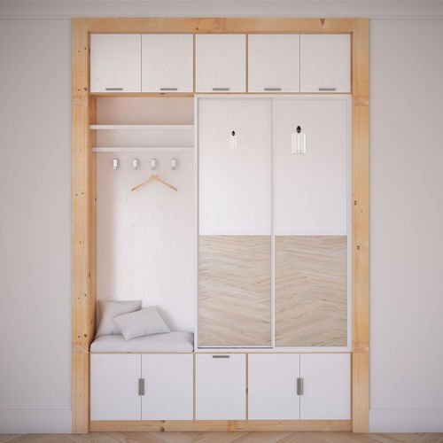 wardrobe 3d model max obj mtl 1