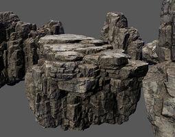 rock stone 3D asset realtime