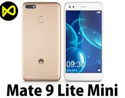 3D model Huawei Mate 9 Lite Mini Gold