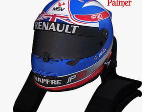 3D model Palmer helmet 2017