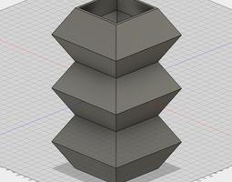 3D printable model Free Layered Diamond Box