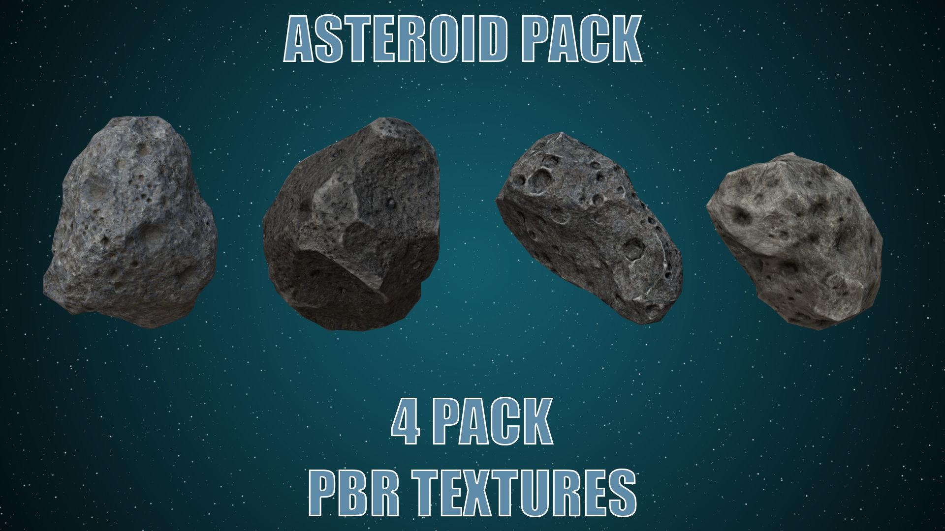 Asteroids- Meteorite 4 pack