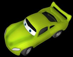 3d raceing car racing