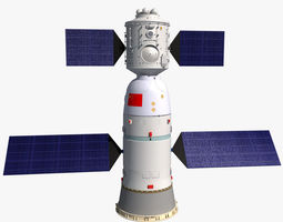 3D China Shenzhou Spaceship