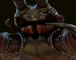 insect centipede 3d model rigged