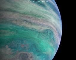 Alien planet model 3 - 16k photorealistic -warm animated 1