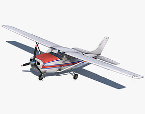 Cessna 206 Stationair 3D model