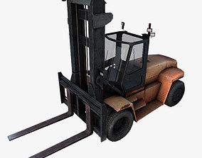 Forklift 3D asset game-ready